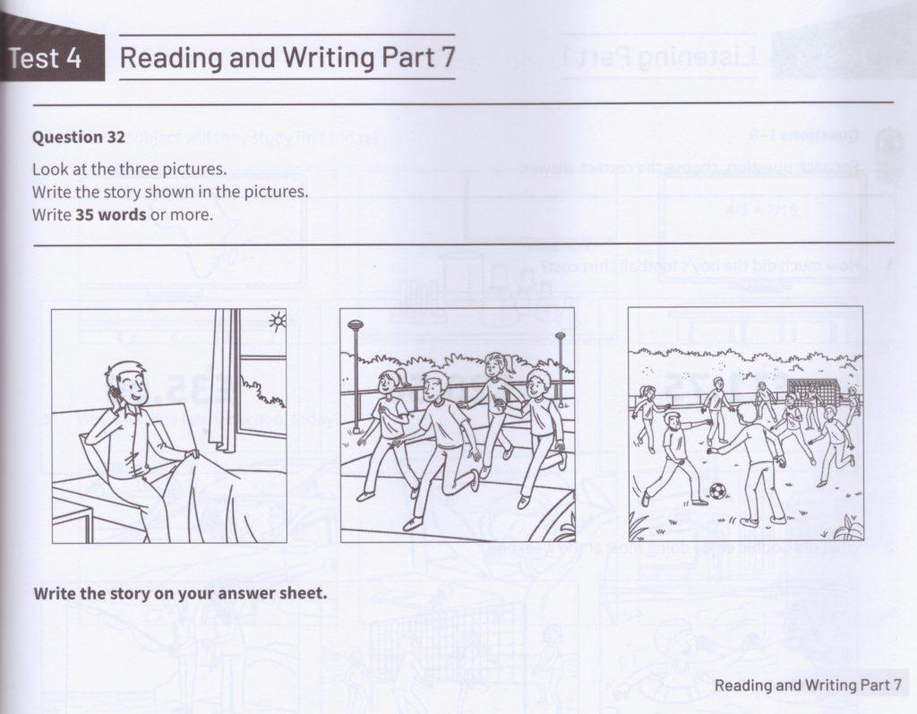KET Reading and Writing part 7